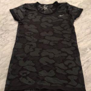 nike dri-fit t-shirt camo pattern
